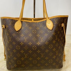Louis Vuitton Neverful Mm Monogram tote